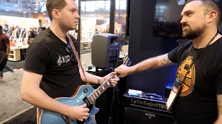 Download Playing THE FORBIDDEN RIFF in a Huge Guitar Store Mp3 and Videos
