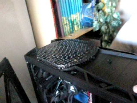Antec 1200 Front Filter Cleaning
