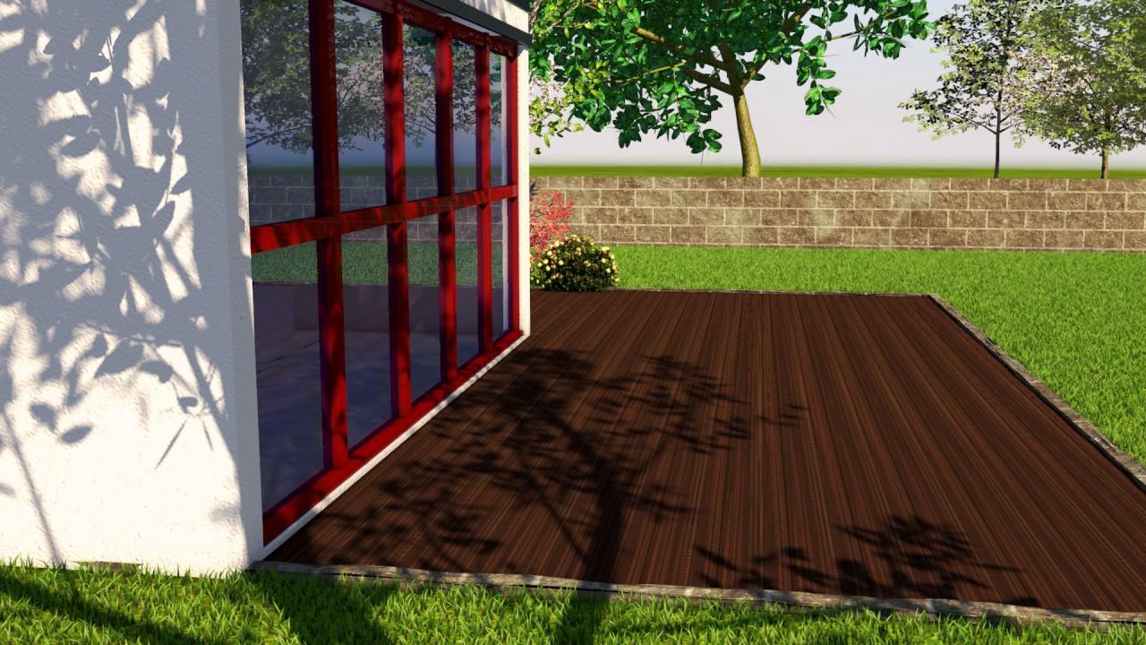 So einfach geht s Sichtschutz bauen mit Holzelementen