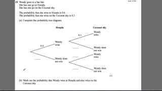 GCSE Revision Video 32 - Probability trees