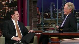 Jimmy Kimmel on Letterman (2008)