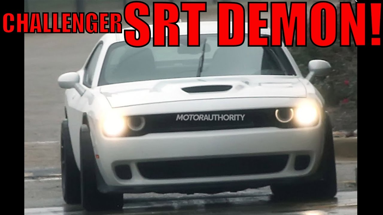 2018 dodge srt. fine dodge 2018 dodge challenger srt demon a hellcat on steroids news  youtube with dodge srt
