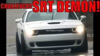 2018 Dodge Challenger SRT Demon: A Hellcat On Steroids? (News)