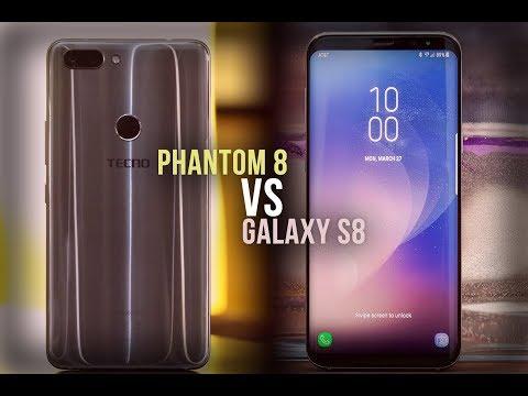 20 Samsung Galaxy S8 Features You Won't Find On Tecno Phantom 8