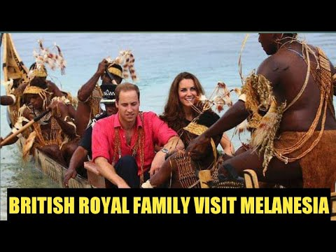 BRITISH ROYAL FAMILY VISIT PNG & SOLOMON ISLAND (Past & Recent Visit)