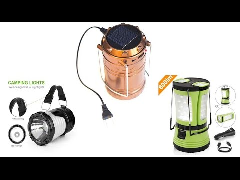 The 5 Best Solar Lanterns For Camping & Home 2017