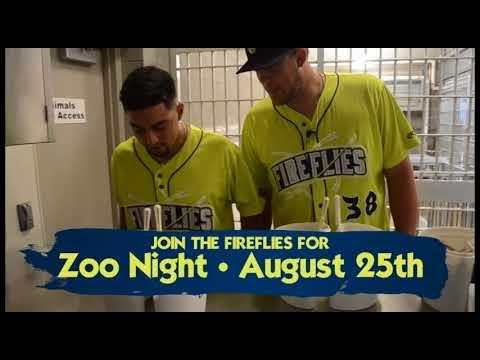 Columbia Fireflies Visit Riverbanks Zoo