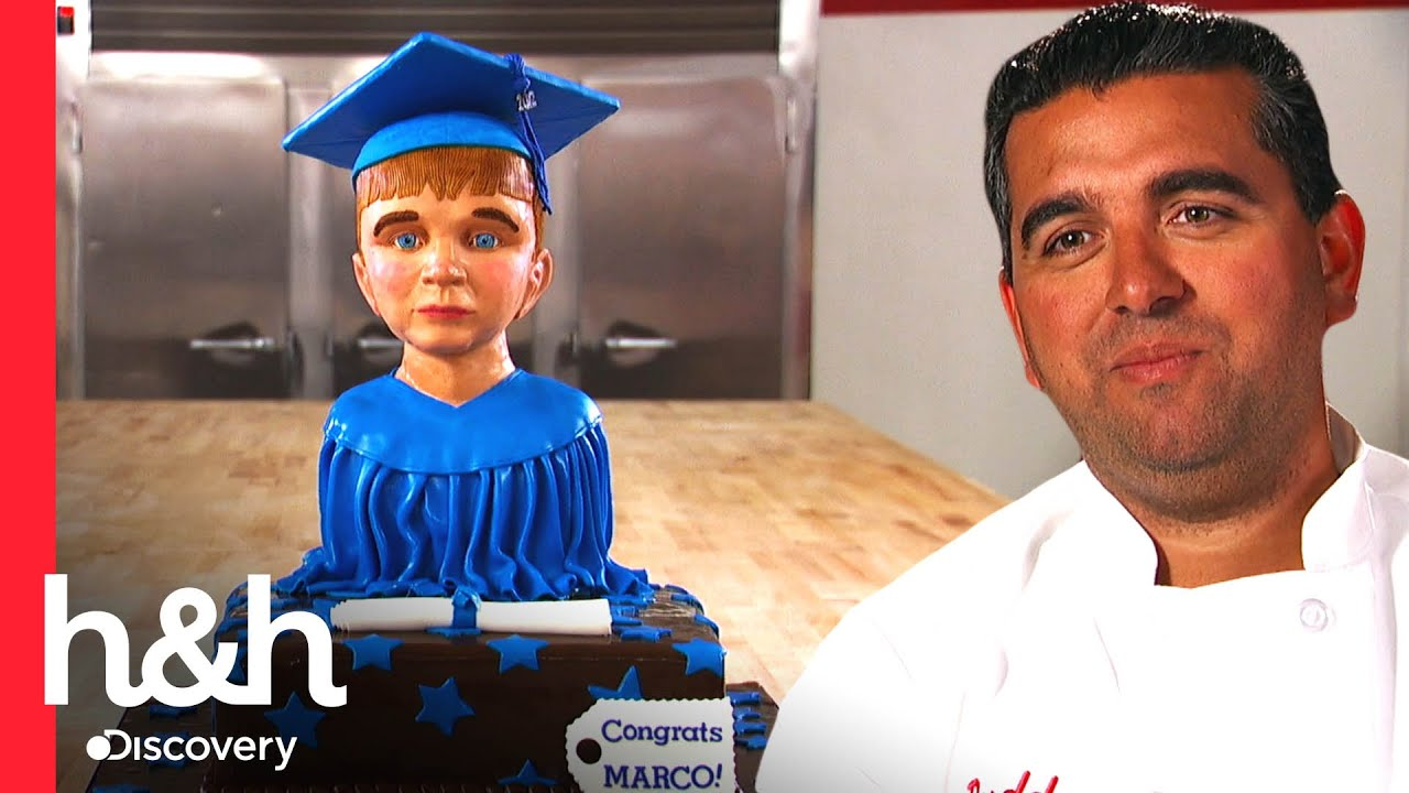 Download Ralph esculpe rostro de Marco en un pastel, el adorable hijo de Buddy | Cake Boss | Discovery H&H