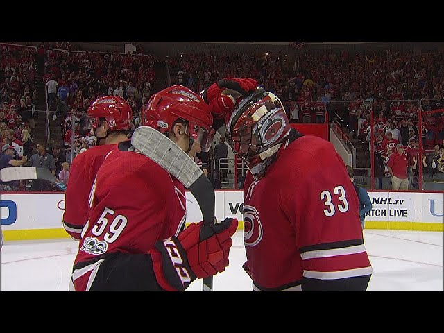 Hurricanes down Wild behind Slavin's shootout tally