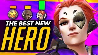 Overwatch | THE BEST NEW HERO - Moira's Launch & Supports Comparison