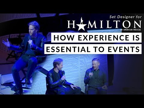 Set Designer For Hamilton Discusses How Experience Is Essential To Events