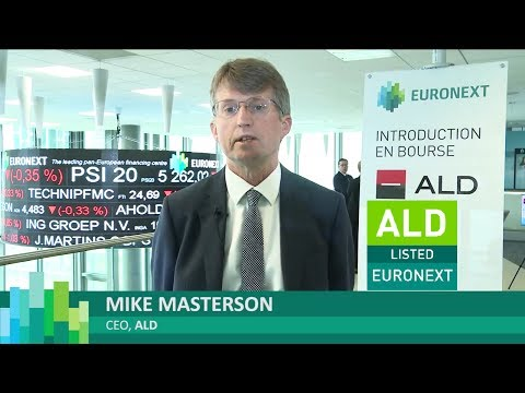 Listing of ALD on Euronext