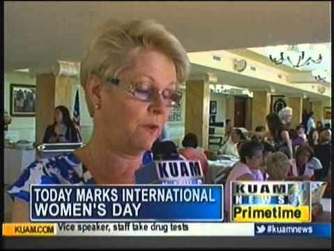 Guam celebrates International Women's Day