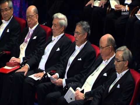 Nobel Prize 2010 Ceremony p2