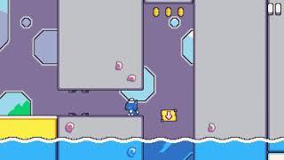 Super Cat Tales, World 2-6, Water Ruins 1, Secret Path