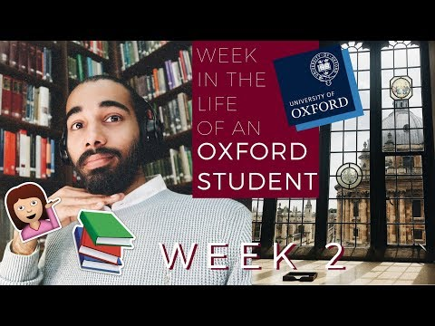 WEEK IN THE LIFE OF AN OXFORD STUDENT | WEEK 2 | THIS IS MANI