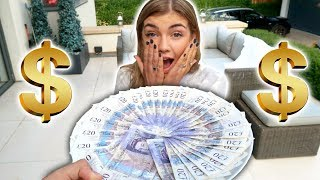 SURPRISING GIRLFRIEND WITH £1,000 CASH! (SHE CRIED)