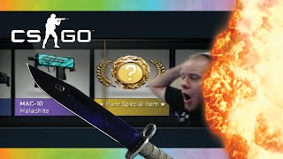 CS:GO StatTrak Bayonet Doppler Case Opening! (Case Opening Funny Reactions)