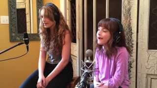 8 Year Old Jessica and Big Sister Seraina singing HUMAN by Krewella