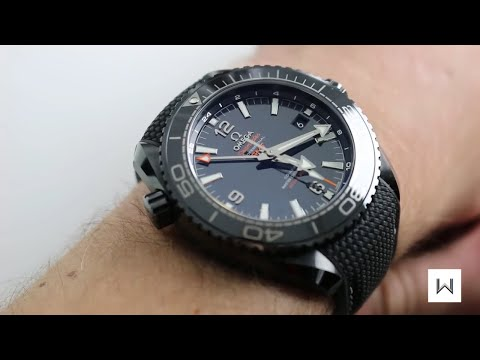 "Omega Seamaster Planet Ocean ""Deep Black"" Ref. 215.92.46.22.01.001 Watch Review"