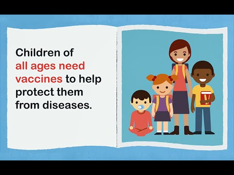 School Starts Soon—Are Your Child's Vaccines Up To Date?