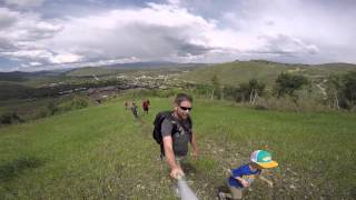 Hiking in Park City, 360 degree view