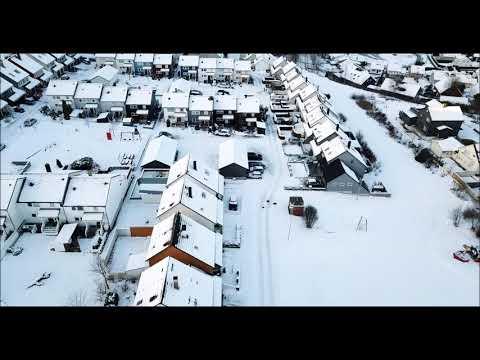 A winter day in Stavanger Norway