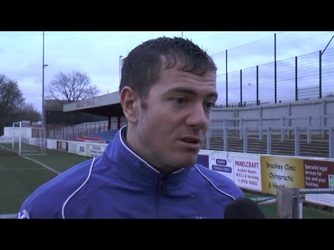 Paul Connolly Post-Match Interview - Brackley Town
