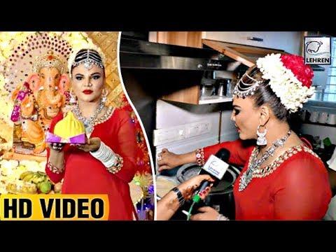 Rakhi Sawant Makes Food (Bhog) For Ganpati Bappa | EXCLUSIVE Interview