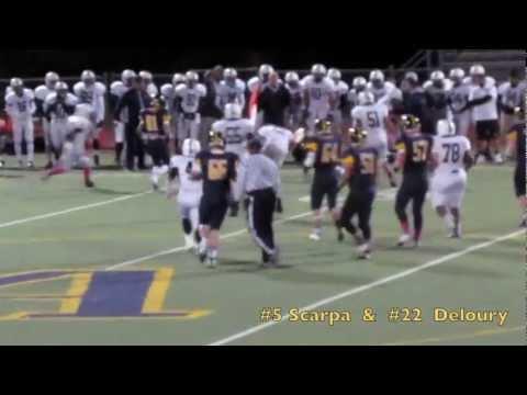 2012 Andover, MA  v Lawrence, MA Football