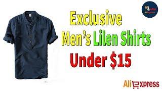 2018 Summer Short Sleeve Slim Linen Shirts For Male - AliExpress Men