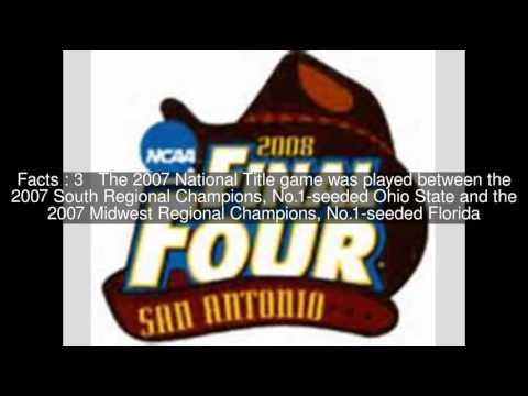 2007 NCAA Men