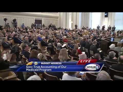 Full video: Gov. Chris Sununu's state budget address