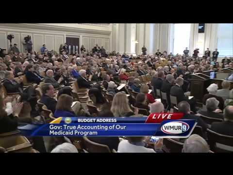 Full video: Gov. Chris Sununu's state budget address