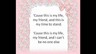 Anna Bergendahl - This Is My Life (Lyrics)