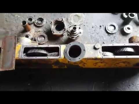 МКСМ 800 ремонт бортового редуктора.