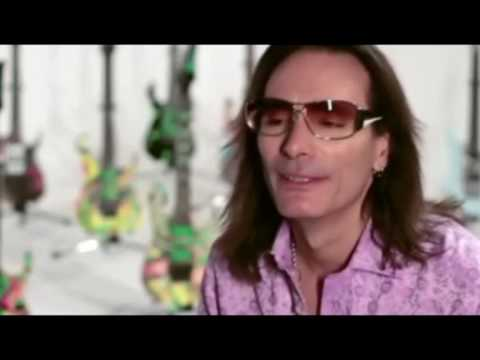 Steve Vai on Strapping young lad (parody)