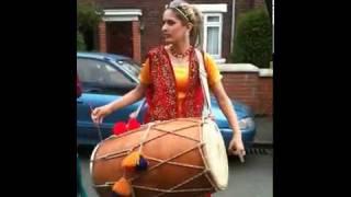 Punjabi Dhol mix Rihanna - Rude Boy  songs   by Rani Taj