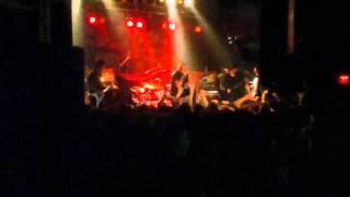Attila - Rage - Rock yourself to sleep tour Raleigh NC Nov 20, 2011