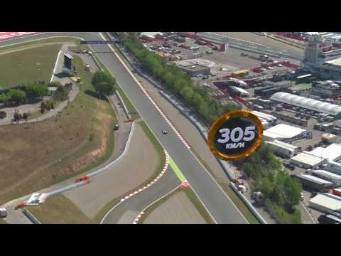A Bird's Eye View Of The Circuit De Barcelona Catalunya | Spanish Grand Prix 2016