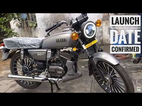 ALL New Yamaha RX 100 2019 Model In India || indian auto expert