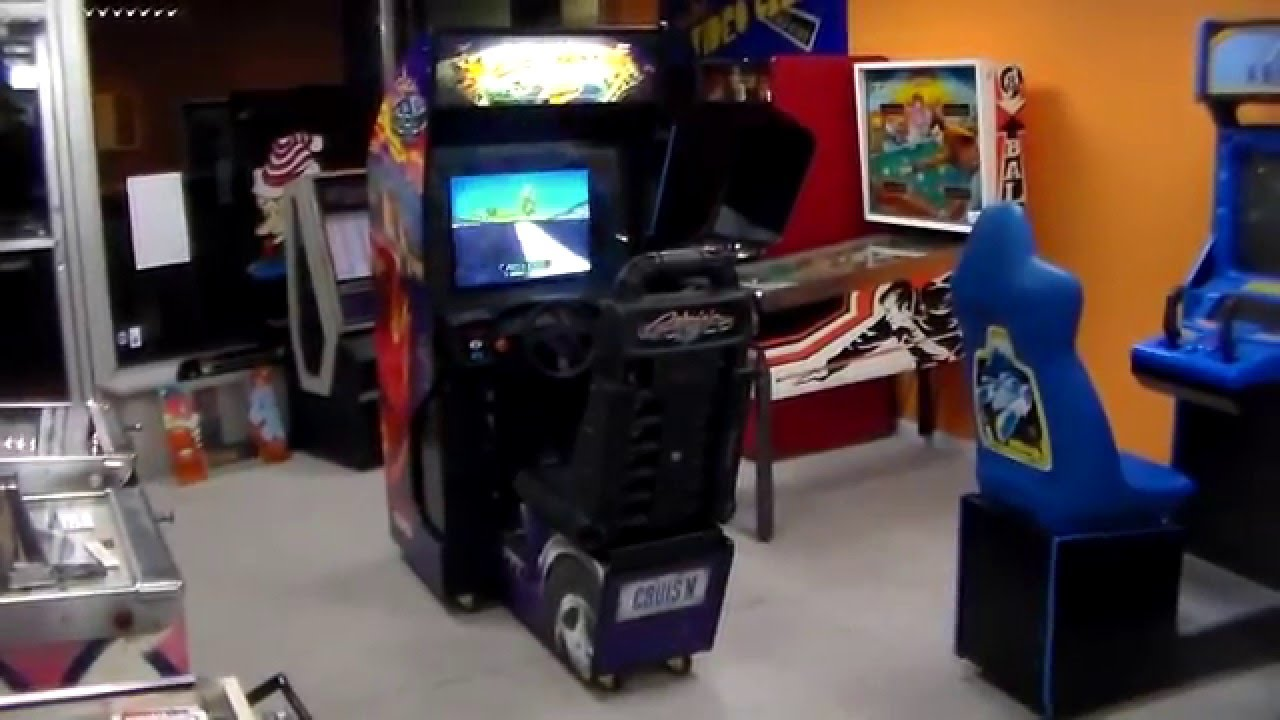 Cruis'n Exotica Arcade Game! Nintendo MIdway Classic Racing ...