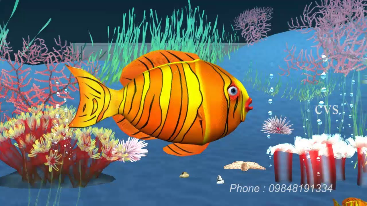 Eehd Machli Jal Ki Rani Hai - Fish 3d Animation Hindi Nursery