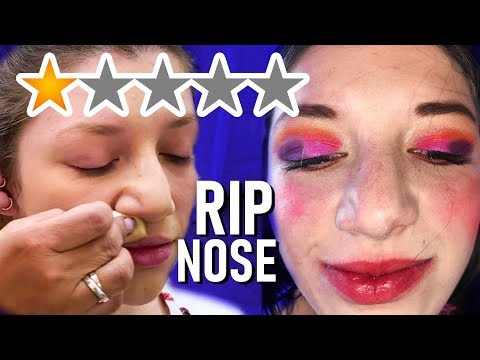 I WENT TO THE WORST REVIEWED MAKEUP ARTIST of 2020!