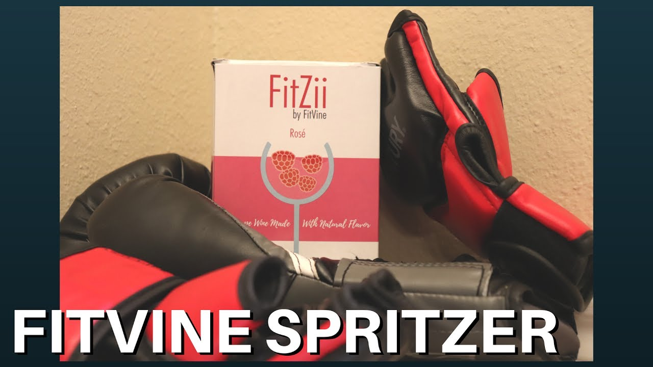 Fitzii Rose Spritzer By Fitvine Wine Review Youtube