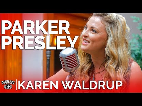 Karen Waldrup - Parker Presley (Acoustic) // Country Rebel HQ Session