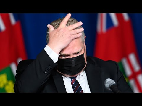 Here's why Doug Ford is giving fewer COVID-19 updates