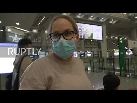 Hong Kong: Quarantined