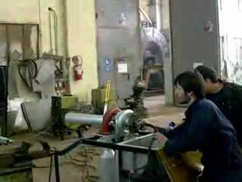 gas turbine by PZX University Of West Macedonia 1st test