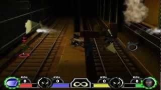 TMNT Mutant Melee PC 1080P HD Playthrough with LEONARDO - SUBWAY